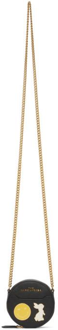Marc Jacobs Black Circular Chain Bag