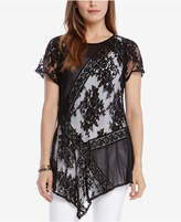 Karen Kane Lace Panel Top, a Macy's Exclusive Style