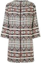 Bogner zipped coat - women - Polyacrylic/Cotton/Polyimide - 36