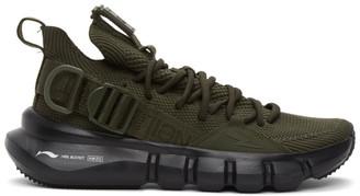 Neil Barrett Khaki Li Ning Edition Essense 2.3 Sneakers