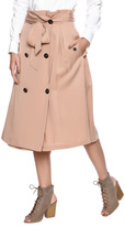 J.o.a. Camel Trench Skirt