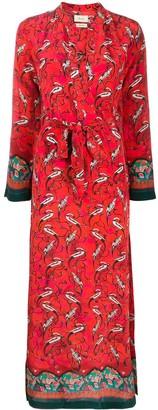CHUFY Printed Maxi Dress