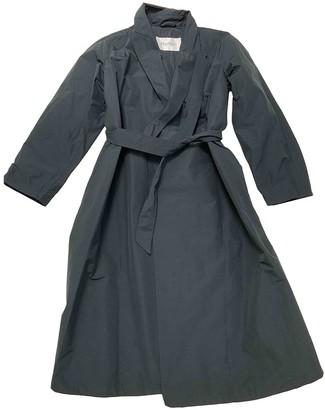 Max Mara Navy Trench Coat for Women