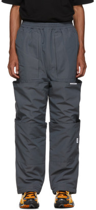 Xander Zhou Grey Cargo Lounge Pants