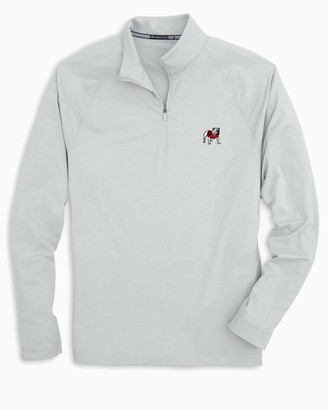 Southern Tide Georgia Bulldogs Lightweight Quarter Zip Pullover
