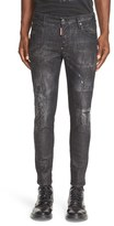 DSQUARED2 Men's Ripped & Repaired Slim Fit Jeans