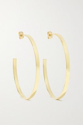 Jennifer Meyer Ellen Medium 18-karat Gold Hoop Earrings