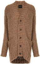 Roberto Collina oversized chunky knit cardigan
