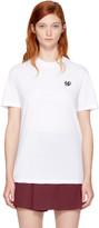 McQ White Swallow Badge Classic T-Shirt