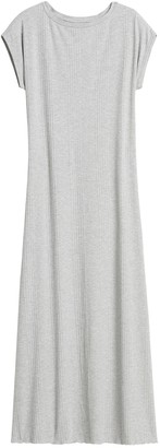 Banana Republic JAPAN EXCLUSIVE Ribbed Knit Boat-Neck Dress