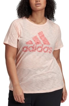 adidas Plus Size Winners Logo T-Shirt