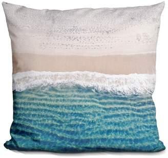 Lilipi Beach Decorative Accent Throw Pillow