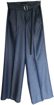 Strenesse Blue Trousers for Women