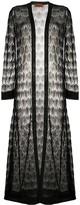 Missoni Decorative Knit Longline Cardigan