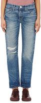 Current/Elliott Women's The Selvedge Fling Boyfriend Jeans