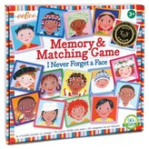 Eeboo I Never Forget a Face Memory & Matching Game