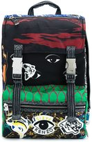 Kenzo multi icon backpack - men - Nylon - One Size