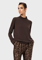 Giorgio Armani Pure Cashmere Roll Neck Sweater