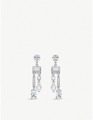 Thomas Sabo Magic sterling silver and zirconia chandelier drop earrings