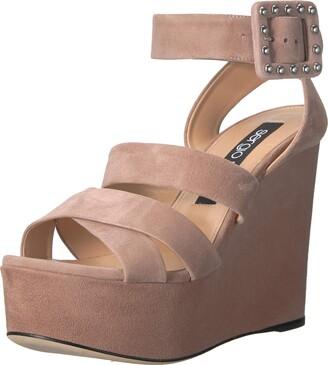 Sergio Rossi Women's Elettra Wedge Sandal