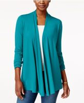 Karen Scott Cascade Cardigan, Only at Macy's