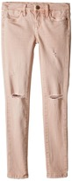 Blank NYC Kids - Blush Pink Ripped Denim Skinny in Don't Blink Pink Girl's Jeans