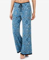 Ellen Tracy Printed Palazzo Pajama Pants
