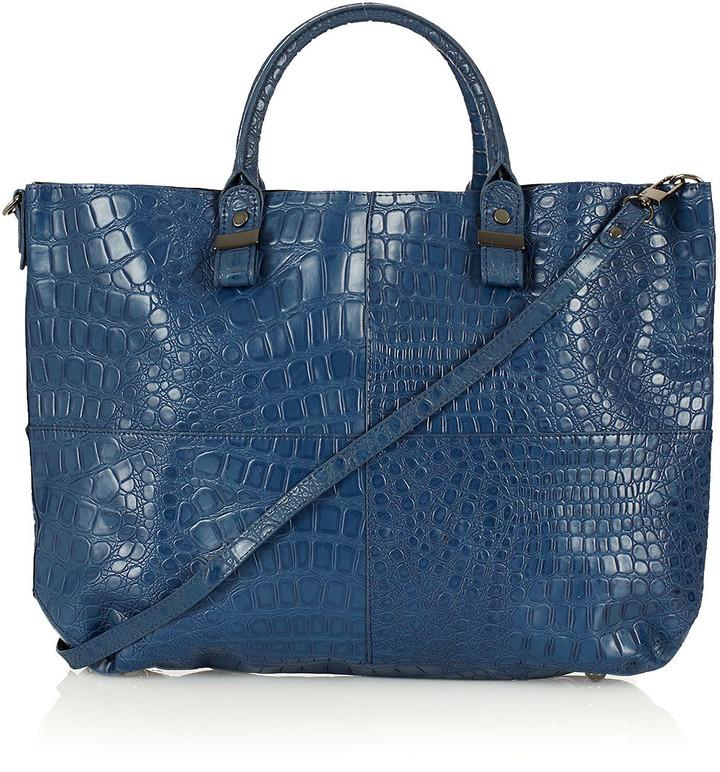 Topshop Croc Lady Tote Bag