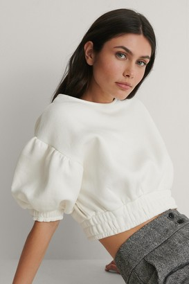 Trendyol Balloon Sleeve Crop Sweater