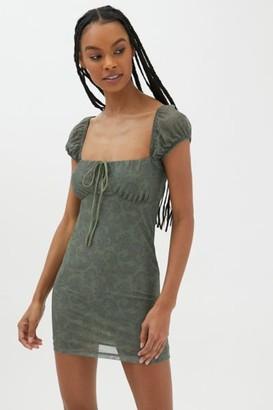 Motel Gaina Cap Sleeve Mini Dress