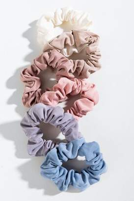 francesca's Lyanna Cupro Scrunchie Set - Multi