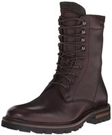 Men Brown Combat Boots - ShopStyle