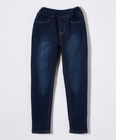 U.S. Polo Assn. Dark Denim Jeggings - Girls