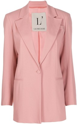 L'Autre Chose Single Buttoned Blazer