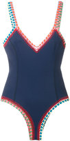 Kiini crochet Tasmin swimsuit - women - Cotton/Nylon/Polyester/Spandex/Elastane - L