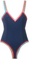Kiini crochet Tasmin swimsuit - women - Cotton/Nylon/Polyester/Spandex/Elastane - S