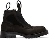 Julius Black Tank Boots