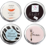 Kate Spade A Way With Words Coasters Set of 4
