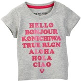 True Religion Hello Tee (Baby Girls)
