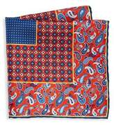 Saks Fifth Avenue COLLECTION Silk Paisley Pocket Square