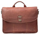 Will Leather Goods Men's 'Kent' Messenger Bag - Brown