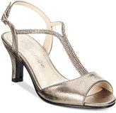 Caparros Delicia T-Strap Evening Sandals