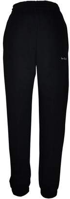 Le Slap Uniform Black Lounge Wear Joggers