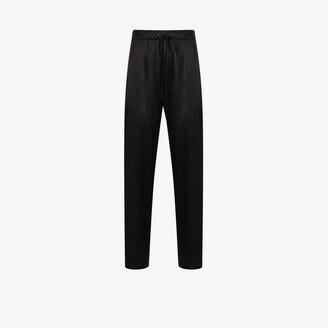Edward Crutchley Drawstring Silk Trousers - Men's - Silk