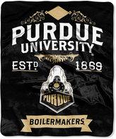Northwest Company Purdue Boilermakers Team Spirit Plush Throw