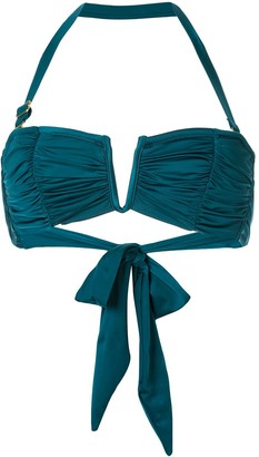 Duskii Oceane Deep V bikini top