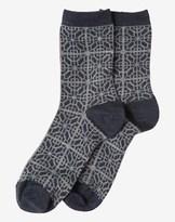 Toast Fine Lattice Socks