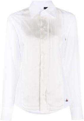 Vivienne Westwood Contrast-Bib Shirt