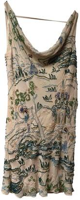 Agent Provocateur Ecru Silk Dress for Women