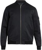 A.P.C. Alain cotton and linen-blend bomber jacket
